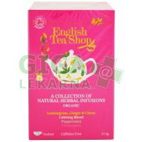 English Tea Shop MIX 4 příchutě Bio bylinné 20 sáčků