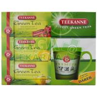 TEEKANNE 3x zelený čaj + hrnek zdarma