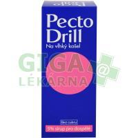 Pectodrill 5% sirup na vlh. kašel 200ml