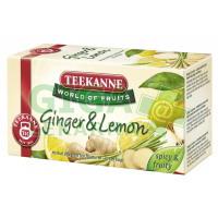 TEEKANNE WOF Ginger+Lemon 20x1,75g(záz.+citr.)