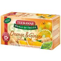 TEEKANNE WOF Pomeranč a zázvor 20x2.25g