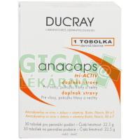 DUCRAY Anacaps TRI active 30 kapslí doplněk stravy