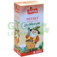 Apotheke Dětský čaj bylinný pro běžné pití 20x1,5g