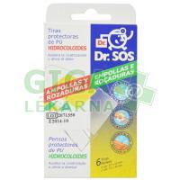 Náplast Dr.SOS Hydrokol. voděodolná elast.6ks mix