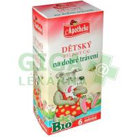Apotheke Dětský čaj BIO dobré trávení 20x1,5g