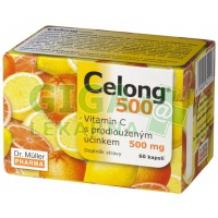 Celong 500 Vitamin C 500mg 60 kapslí