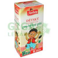 Apotheke Dětský čaj BIO ovocný 20x2g (pro běžné pití)