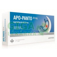 Apo-Panto 20mg 7 tablet