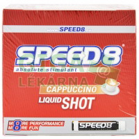 SPEED8 cappuccino 5 ampulí