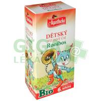 Apotheke Dětský čaj BIO rooibos pro běžné pití 20x1,5g