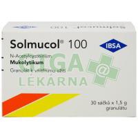 Solmucol 100 granulát v sáčcích 30x100mg