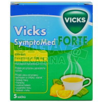 Vicks SymptoMed forte citrón 5 sáčků
