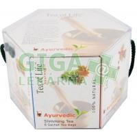 Tea of Life Dárková kolekce 6 druhů Ajurvédských čajů 48x2g