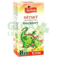 Apotheke Dětský čaj BIO fenyklový 20x1,5g