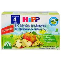 HiPP ČAJ SÁČK.BIO Jabl-fenykl čaj 20x1.5g