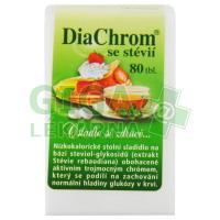 DiaChrom se stévií 80 tablet