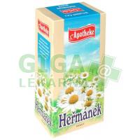Apotheke Heřmánek pravý čaj 20x1,5g