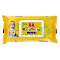 Ubrousky dětské hygienické Baby Wipes s vit.E 80ks