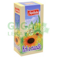 Apotheke Krk a mandle čaj 20x1,5g