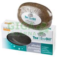 Tea Tree Oil mýdlo s lístky čajovníku australského 100g