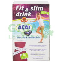 HERBEX Fit slim drink ACAI 16x6g