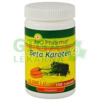 Beta Karoten 10 000 Bio-Pharma 100 tobolek