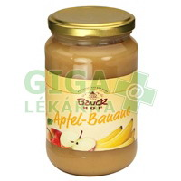 Allexx Ovocné pyré Jablko+Banán - neslazené 360g , BIO