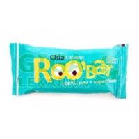 Allexx ROOBAR Datlová tyčinka s chia a kokosem 50g BIO/RAW