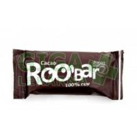 Allexx ROOBAR Datlová tyčinka s nepraženým kakaem 50g BIO/RA