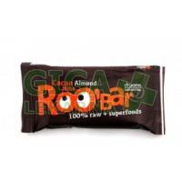 Allexx ROOBAR Kakaová tyčinka s mandlemi 50g BIO/RAW