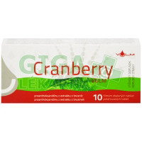 Cranberry VULM 10 tablet