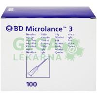 Inj. jehla BD Microlance 25G 0.50x16 oranž.100ks