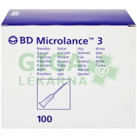 Inj. jehla BD Microlance 25G 0.50x25 oranž. 100ks