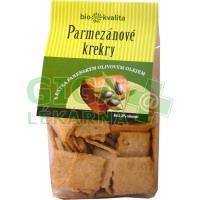 Parmezánové krekry s EP olivovým olejem 130g-BIO