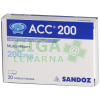 ACC 200 kapsle 20x200mg