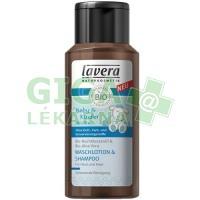Lavera Vlasový a tělový šampon 200ml