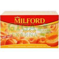 MILFORD Ovocný čaj meruňka 20x2.5g