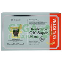 Bioaktivní Q10 Super kapsle 60x30mg+50% EXTRA