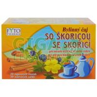 Bylinný čaj pro diabetiky se skořicí EUDIABEN  20x1,5g