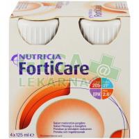 FortiCare Cappuccino por.sol. 4x125ml