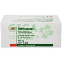 Komprese Vliwasoft nesterilní 5x5cm 100ks 4 vrstvy netkaná