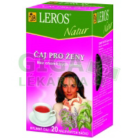 LEROS NATUR Čaj pro ženy 20x1.5g