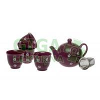 Oxalis Violeta - keramická souprava