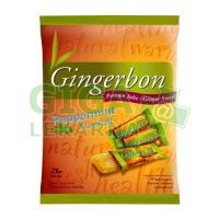 Gingerbon 125g peprmint - zázvorové bonbony s mátou