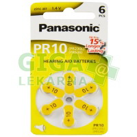 Baterie do naslouchadel PR- 230H(10) 6LB Panasonic