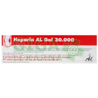 Heparin AL 30000 gel 100g