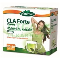 Naturline CLA Forte 1000 mg + Zelený čaj extrakt 315 mg