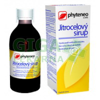 Phyteneo Jitrocelový sirup bez cukru 250ml