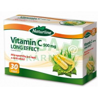 Naturline Vitamín C 500mg Long Effect 30tob.