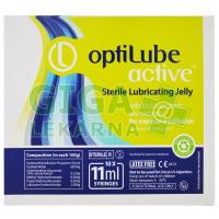 Gel lubrikační OptiLube Active stříkačka 11ml